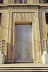 Doorway Of Government Building