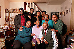 Lucille Brown and Family