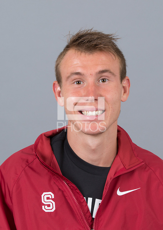 STANFORD, CA - SEPTEMBER 24, 2014--Maksim Korolev, with Stanford University Cross Country Team