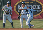 31 July 2016: Vermont Lake Monsters infielder Eric Marinez (2) in action against the Connecticut Tigers at Centennial Field in Burlington, Vermont. The Lake Monsters edged out the Tigers 4-3 in NY Penn League action.  Mandatory Credit: Ed Wolfstein Photo *** RAW (NEF) Image File Available ***