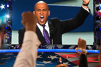 CHARLOTTE, NC - September 4, 2012 - Remarks by Cory A. Booker<br /> Mayor of Newark, New Jersey at the 2012 Democratic National Convention.