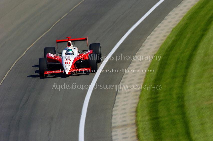 9-27 May,2004 Indianapolis Motor Speedway, Indiana, USA.Darren Manning..............