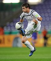FUSSBALL   DFB POKAL   SAISON 2011/2012  1. Hauptrunde VfL Osnabrueck - TSV 1860 Muenchen                29.07.2011 Daniel HALFAR (1860 Muenchen) Einzelaktion am Ball