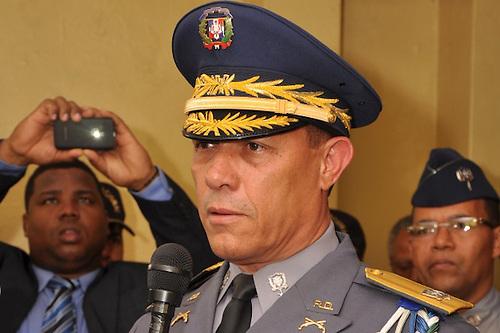 El general de brigada Héctor García Cuevas