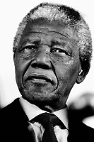 Nelson Mandela on a visit to the Netherlands.. CHECK with MRM/FNA