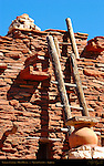Terrace Ladder, Hopi House, Mary Colter 1905, South Rim, Grand Canyon, Arizona