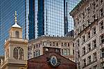 The Old State House on the Freedom Trail, Boston National Historical Park, Boston, MA, USA