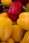 Closeup of peppers