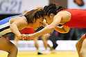 (L to R) Seiko Yamamoto, Kaori Icho, December 23, 2011 - Wrestling : All Japan Wrestling Championship, Women's Free Style -63kg at 2nd Yoyogi Gymnasium, Tokyo, Japan. (Photo by Daiju Kitamura/AFLO SPORT) [1045]