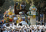 The 120th annual Rose Parade New Years Day celebration on a perfect weather day in Pasadena, California.