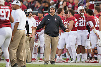 STANFORD, CA -- November 5, 2016<br /> Stanford Cardinal vs. the Oregon State Beavers at Stanford Stadium in Stanford, CA. Final score Stanford 26, OSU 15.