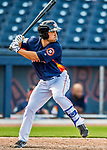 1 March 2017: Houston Astros infielder Jack Mayfield in Spring Training action against the Miami Marlins at the Ballpark of the Palm Beaches in West Palm Beach, Florida. The Marlins defeated the Astros 9-5 in Grapefruit League play. Mandatory Credit: Ed Wolfstein Photo *** RAW (NEF) Image File Available ***
