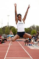 SAN ANTONIO, TX - MAY 2, 2014: The UTSA Roadrunner Invitational Track & Field Meet at the Park West Athletics Complex. (Photo by Jeff Huehn)
