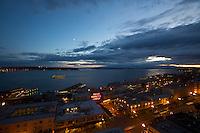 Pike Place Market at Night - Seattle - Washington State