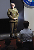 United States Marine Corps General James E. Cartwright, vice chairman of the Joint Chiefs of Staff, speaks at the Air Force Information Technology Conference, August 24, 2009, in Montgomery, Alabama. Cartwright is a target of a Justice Department investigation into a leak of information about a covert U.S.-Israeli cyberattack on Iran&rsquo;s nuclear program.<br /> Mandatory Credit: Monique Randolph / DoD via CNP