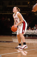 13 November 2005: Clare Bodensteiner during Stanford's 92-65 win over Love and Basketball at Maples Pavilion in Stanford, CA.