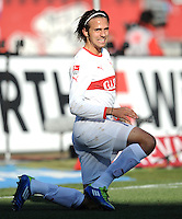 FUSSBALL   1. BUNDESLIGA  SAISON 2011/2012   10. Spieltag 1 FC Nuernberg - VfB Stuttgart         22.10.2011 Martin Harnik (VfB Stuttgart)