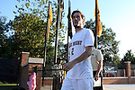 26 August 2016: Wake Forest's Luis Argudo. The Wake Forest University Demon Deacons hosted the Saint Louis University Billikens in a 2016 NCAA Division I Men's Soccer match. SLU won the game 1-0.