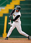 2 May 2008: University of Vermont Catamounts' outfielder Mark Micowski, a Freshman from Haddam, CT, in action against the Binghamton University Bearcats at Historic Centennial Field in Burlington, Vermont. The Catamounts defeated the Bearcats 6-2 in the first game of their weekend series...Mandatory Photo Credit: Ed Wolfstein Photo