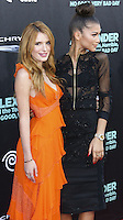 HOLLYWOOD, LOS ANGELES, CA, USA - OCTOBER 06: Bella Thorne, Zendaya arrive at the World Premiere Of Disney's 'Alexander And The Terrible, Horrible, No Good, Very Bad Day' held at the El Capitan Theatre on October 6, 2014 in Hollywood, Los Angeles, California, United States. (Photo by Xavier Collin/Celebrity Monitor)
