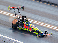 Sep 24, 2016; Madison, IL, USA; NHRA top fuel driver J.R. Todd during qualifying for the Midwest Nationals at Gateway Motorsports Park. Mandatory Credit: Mark J. Rebilas-USA TODAY Sports