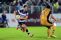 Adam Hastings of Bath United in possession. Aviva A-League match, between Bath United and Bristol United on September 19, 2016 at the Recreation Ground in Bath, England. Photo by: Patrick Khachfe / Onside Images