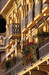 Balconies in Nice, France