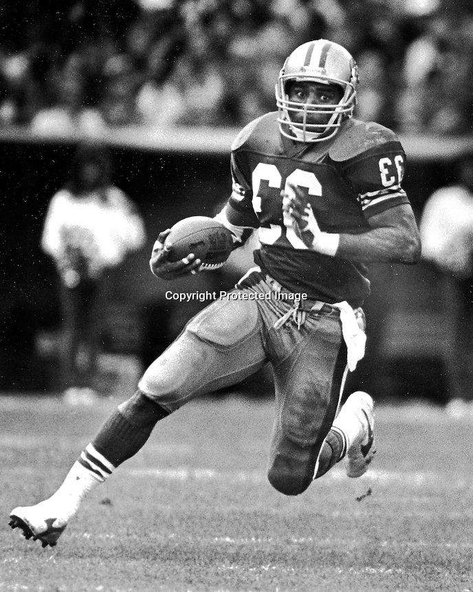 San Francisco 49er running back Roger Craig. (1989 photo by Ron Riesterer)