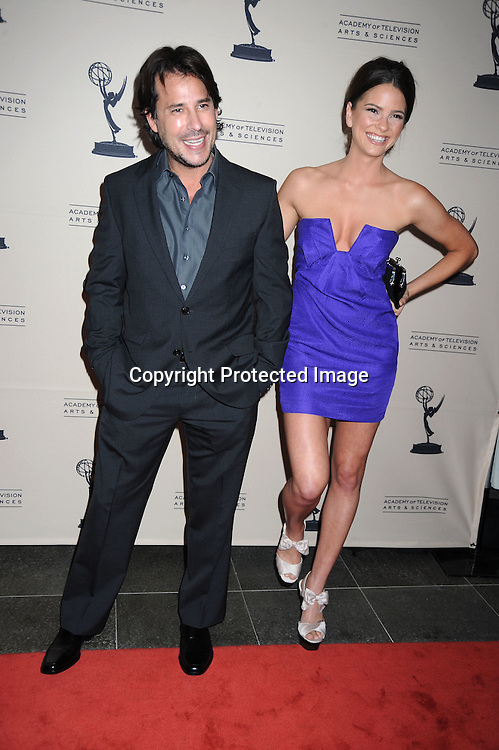 Ricky Paull Goldin and Shelley Hennig  attending  The TV Academy's Programming Peer Group cocktail Reception in honor of the 2010 nominees on June 24, 2010 at the SLS Hotel in Beverly Hills in California . .Robin Platzer/ Twin Images