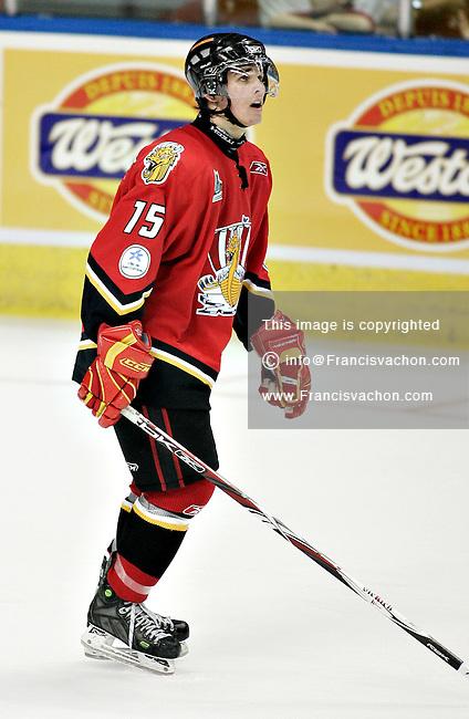 QMJHL (LHJMQ) Baie-Comeau Drakkar  #15 Mike Villeneuve
