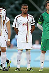 23 September 2016: Boston College's Joshua Forbes (GER). The University of North Carolina Tar Heels hosted the Boston College Eagles in Chapel Hill, North Carolina in a 2016 NCAA Division I Men's Soccer match. UNC won the game 5-0.