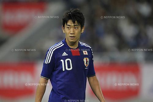 Shinji Kagawa (JPN), OCTOBER 7, 2011 - Football / Soccer : KIRIN Challenge Cup 2011 mach between Japan 1-0 Vietnam at Home's Stadium Kobe in Hyogo, Japan. (Photo by Akihiro Sugimoto/AFLO SPORT) [1080]