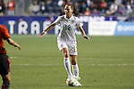 24 October 2014: Lauren Holiday (USA). The United States Women's National Team played the Mexico Women's National Team at PPL Park in Chester, Pennsylvania in a 2014 CONCACAF Women's Championship semifinal game, which serves as a qualifying tournament for the 2015 FIFA Women's World Cup in Canada. The United States won the game 3-0. With the victory the U.S. advanced to the championship game and qualified for next year's Women's World Cup.