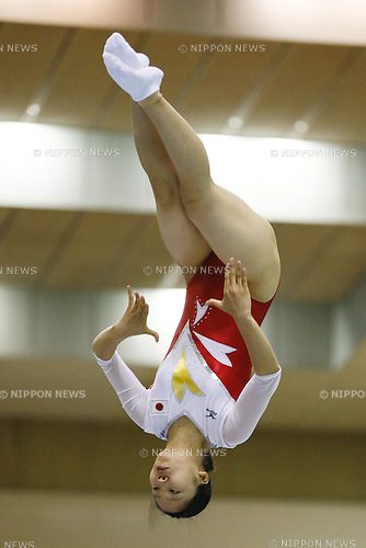 Megu Uyama (JPN),<br /> June 4, 2014 - Trampoline : <br /> The 3rd Trampoline Asian Championships <br /> Women senior Final <br /> at Chiba Port Arena, Chiba, Japan. <br /> (Photo by AFLO SPORT)