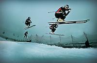 descente north america poster of skicross canada team
