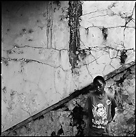 Kuito, Angola, May 22, 2006.Kuito was one of Angola's 'martyr cities', four years after the end of the civil war, its scars  still visible everywhere, yet life is becoming normal again.