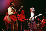 Leon Russell and Freddie King 1971 at the Rainbow Theatre in London<br /> &copy; Chris Walter