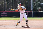 17 February 2017: Notre Dame's MK Bonamy. The Notre Dame Fighting Irish played the University of Minnesota Golden Gophers at Dail Softball Stadium in Raleigh, North Carolina as part of the ACC/Big 10 College Softball Challenge. Minnesota won the game 4-1