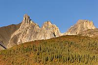 Mount Snowden of the Brooks range mountains, arctic, Alaska.