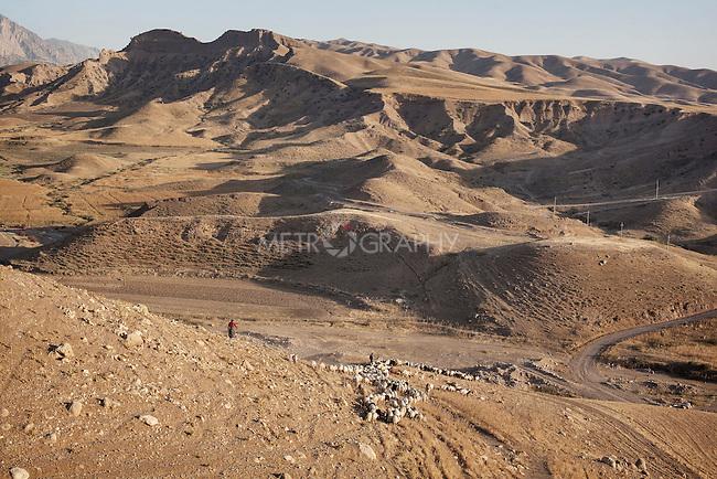 16/05/15. Awbar Village, Darbandikhan area, Iraq. -- The mountains around Awbar village.