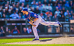 21 April 2013: New York Mets pitcher Bobby Parnell on the mound against the Washington Nationals at Citi Field in Flushing, NY. The Mets shut out the visiting Nationals 2-0, taking the rubber match of their 3-game weekend series. Mandatory Credit: Ed Wolfstein Photo *** RAW (NEF) Image File Available ***