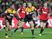 Chiefs' Robbie Robinson in action against the Crusaders in a Super Rugby match, Waikato Stadium, Hamilton, New Zealand, Friday, July 06, 2012.  Credit:SNPA / David Rowland