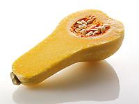 Butternut Squash cut in half