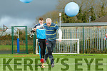 Kerry College of Further Education held a Students V Teachers 'Face Off' Obstacle Course and Tug of War event to mark Wellness week in aid of Pieta House. Pictured Kieran O'Sullivan and Keiran O'Callaghan,
