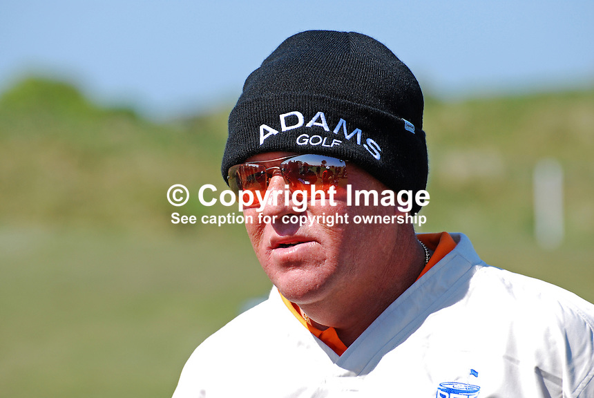 John Daly, professional golfer, USA. 200905122287..Taken at the Irish Open practice day, Tuesday, 12th May, 2009, at Baltray.<br />