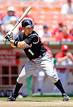 15 June 2006: Jamey Carroll, infielder for the Colorado Rockies, leads off against the Washington Nationals at RFK Stadium, in Washington, DC. The Rockies defeated the Nationals, 8-1 to sweep the four-game series...Mandatory Photo Credit: Ed Wolfstein Photo...