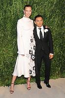 NEW YORK, NY - NOVEMBER 07: Karlie Kloss and Prabal Gurung attends 13th Annual CFDA/Vogue Fashion Fund Awards at Spring Studios on November 7, 2016 in New York City. Photo by John Palmer/ MediaPunch