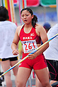 Yuka Sato (JPN), JUNE 11th, 2011 - Athletics : The 95th Japan Athletics National Championships Saitama 2011, Women's Javelin Throw final at Kumagaya Athletic Stadium, Saitama, Japan. (Photo by Jun Tsukida/AFLO SPORT) [0003] .