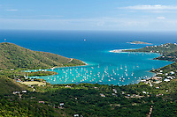 View of Coral Bay .St. John.U.S. Virgin Islands