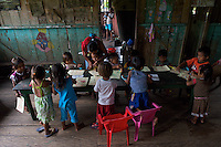 Indigenous Pre-school - Comunidad Indigena de Naranjales - Amazonas - Colombia